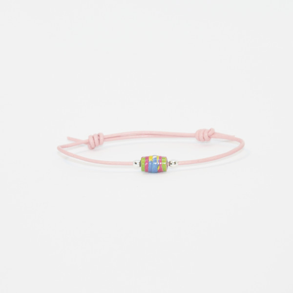 little girl bracelet colored drop